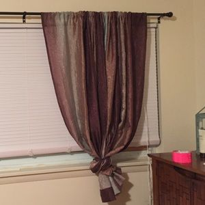 2 New Sheer Ombré Curtain Panels from Kohl's